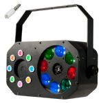 American DJ ADJ Stinger Gobo LED Gobo FX + Multi-colour Wash + Red Green Laser